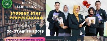 Open Recruitment Studen Staf Perpustakaan Unisnu Jepara