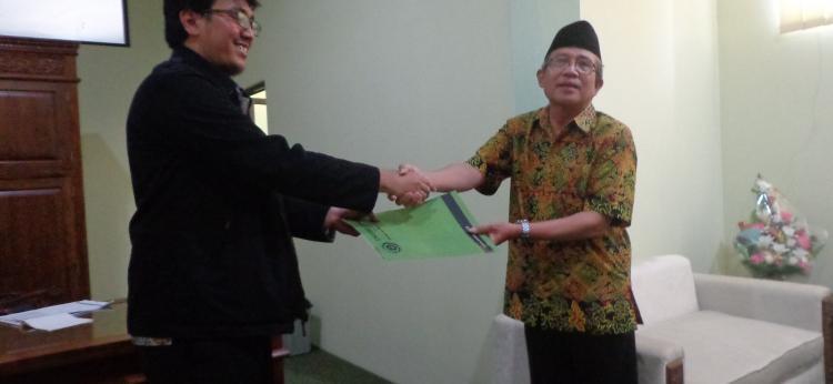 Penyerahan Hibah Metadata Converter Dari Perpustakaan Nasional Republik Indonesia